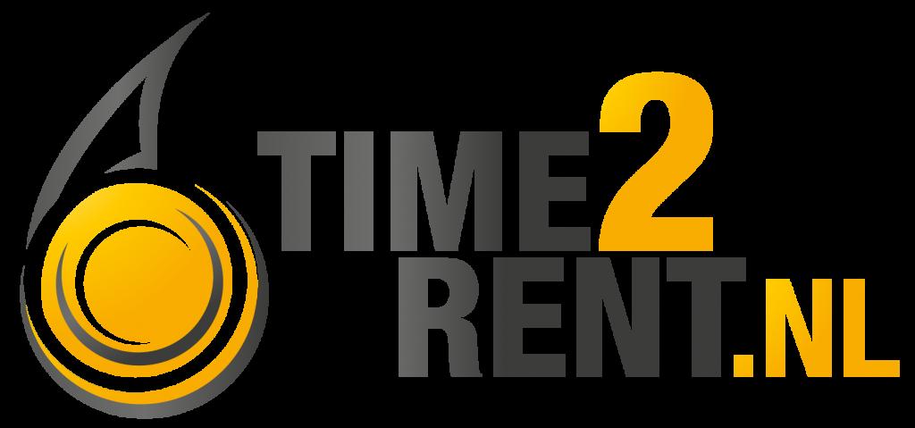 logo time2rent machine verhuur