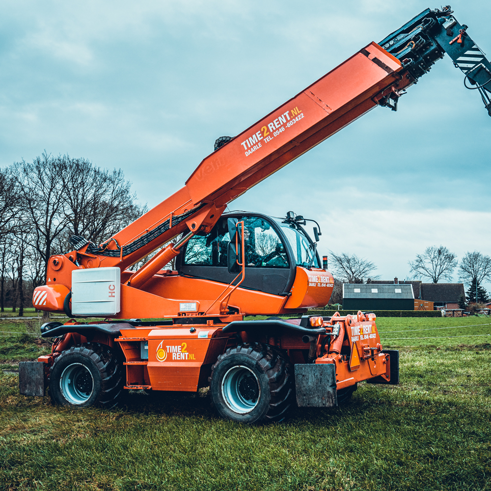 multi-crane huren inclusief machinist